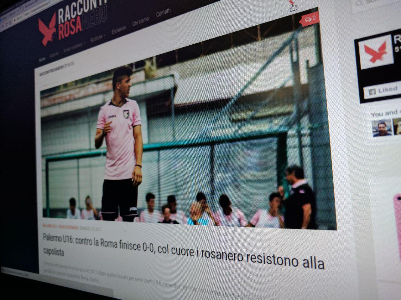 RaccontiRosanero.it è online